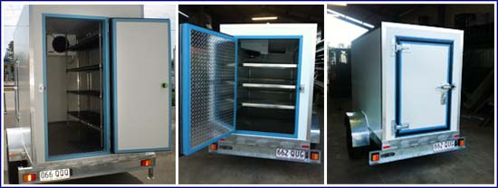 Keep It Cool Refrigerated Trailers internal