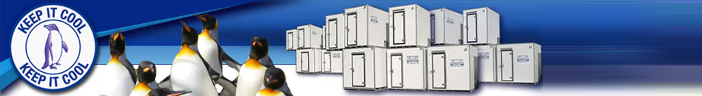 Hire buy coldroom refrigerated trailer